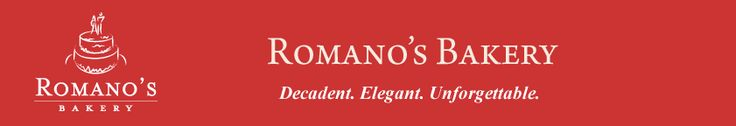 Romano's Bakery Dallas - Wedding, Specialty Cakes, Birthday, Party, Quinceanera, Cheesecakes
