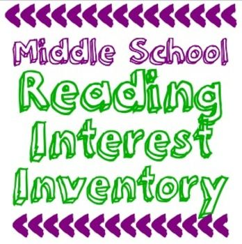 I created this Reading Interest Inventory to help me get to know my students as readers at the beginning of the school year.  I teach middle school but this could be used for upper elementary grades through high school.After my students have completed these, I keep them and refer to them throughout the school year.