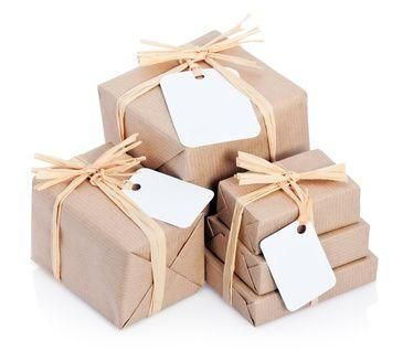 Brown paper packages tied up with string. These are a few of my favourite things...