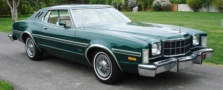1976 Ford Grand Torino Elite 1970 To 1979 Carz