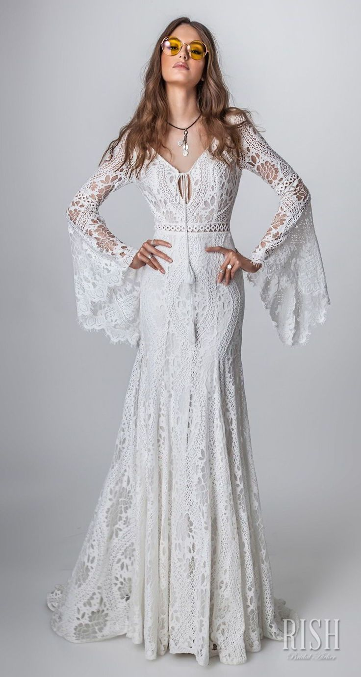 Rish Bridal 2018 Wedding Sun Dance Boh Collection - Boho Chic Wedding Gowns Worth Swooning Over