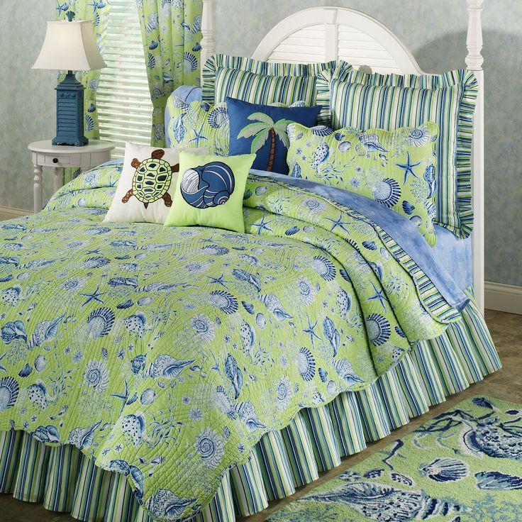 32 best blue green bedroom images on pinterest down comforter bedding duvet bedding and quilt. Black Bedroom Furniture Sets. Home Design Ideas