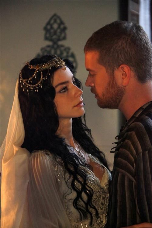 Dasten and his wife Maliyah, the bastard daughter of a Solerran nobleman