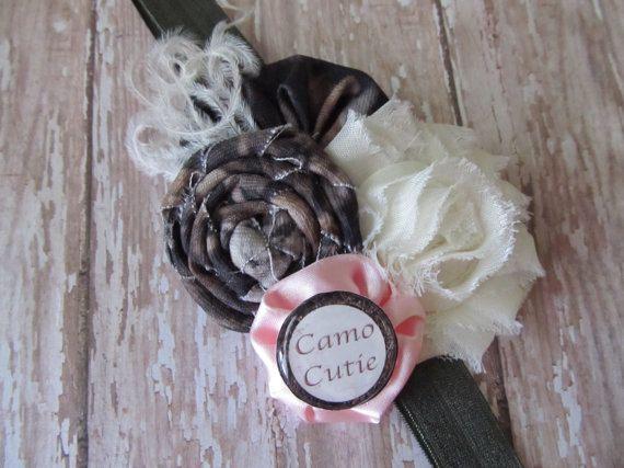 Camo Headband- Pink 9bd9c5fec45
