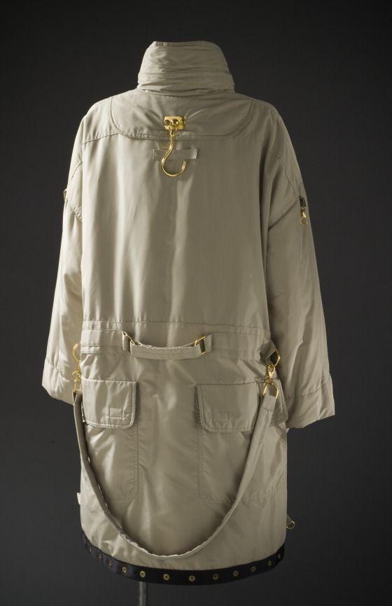 Woman's Garment Bag Coat Moschino 1989
