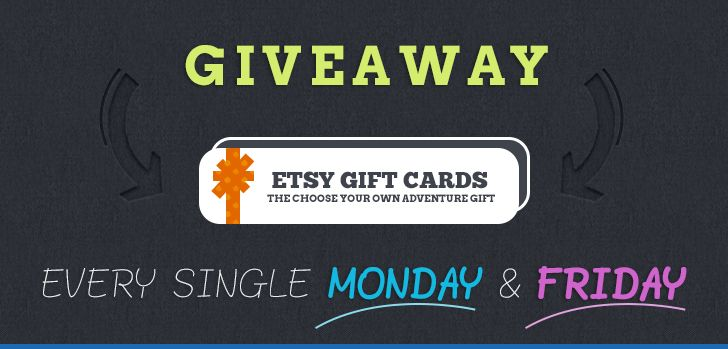 A $25 Etsy Gift Card? YES!