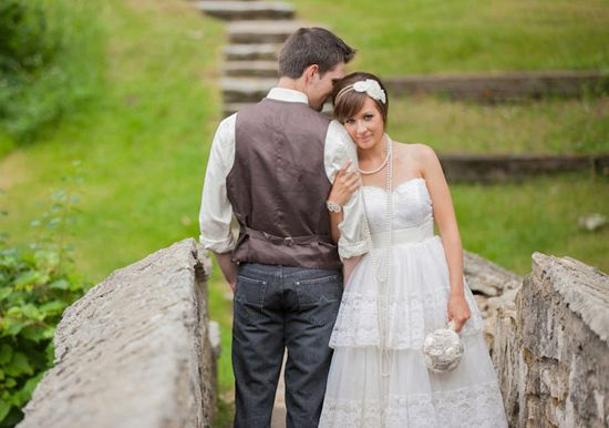 Joli mariage rustique entièrement DIY