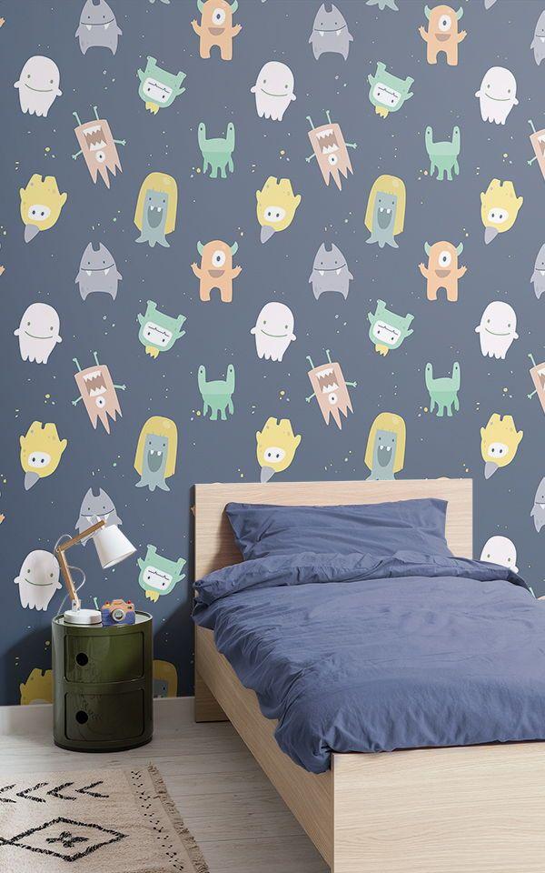 Papier Peint Fresque Petits Montres For The Home Wallpaper