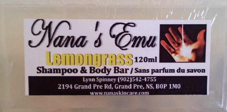 Lemongrass Shampoo & Body Bar... $5 each  http://www.nanaskincare.com/