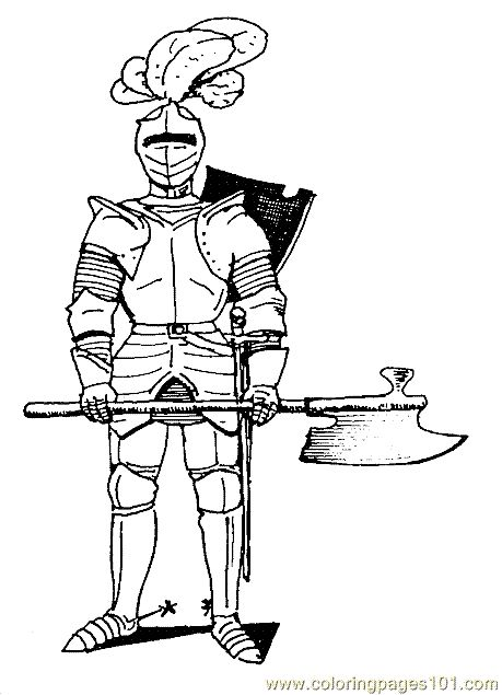 55 best Knight Coloring Pages images on Pinterest  Knights