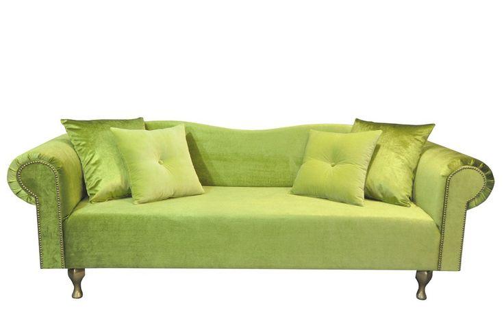 Sofa gondola lime en