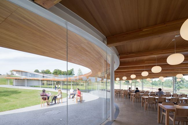 """SANAA's meandering """"River"""" community center opens to the public   News   Archinect"""