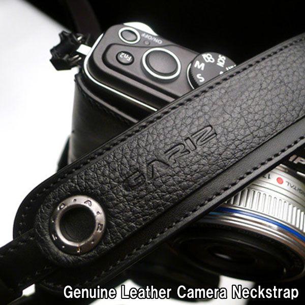 GARIZ/ゲリズGenuine Leather Camera Neckstrap本革カメラストラップXS-CHLSNBK/ブラック【楽天市場】