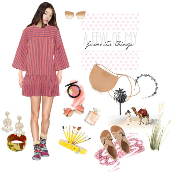 """Game """"A few of my favorite things"""" by happiestime on Polyvore featuring moda, Vanessa Seward, Billabong, Humble Chic, D&G, Dita, Eugenia Kim, Birchrose + Co., Obsessive Compulsive Cosmetics and MAC Cosmetics"""