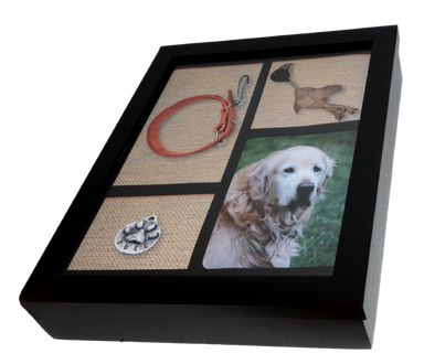 Shadow Box Pet Urn