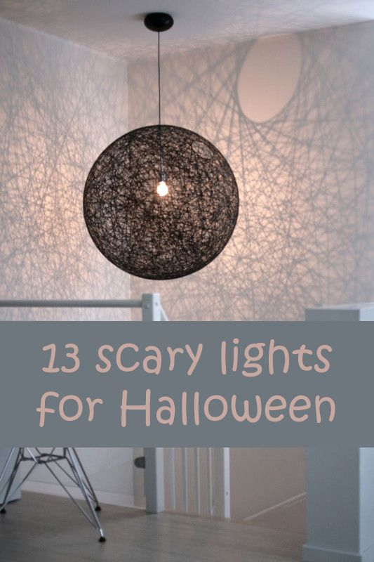 13 scary lights for halloween