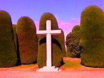 Entrada del Cementerio de Punta Arenas.