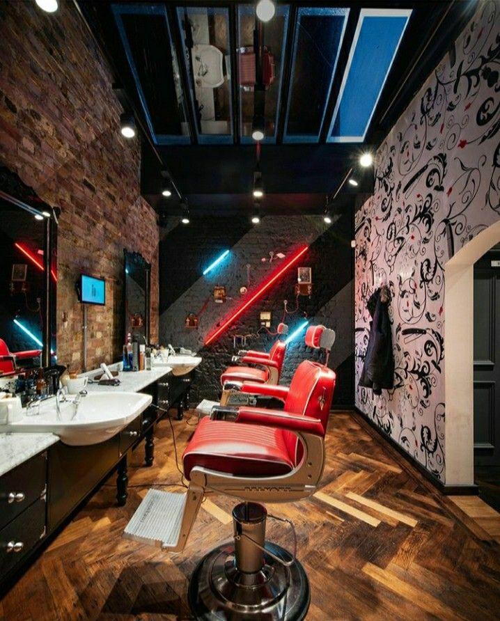 Pin On Best Barber Saloon Interior Design Ideas