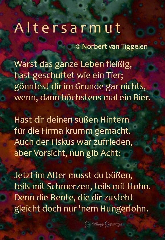 by Norbert van Tiggelen | Gedichte & Sprüche / Poems ...