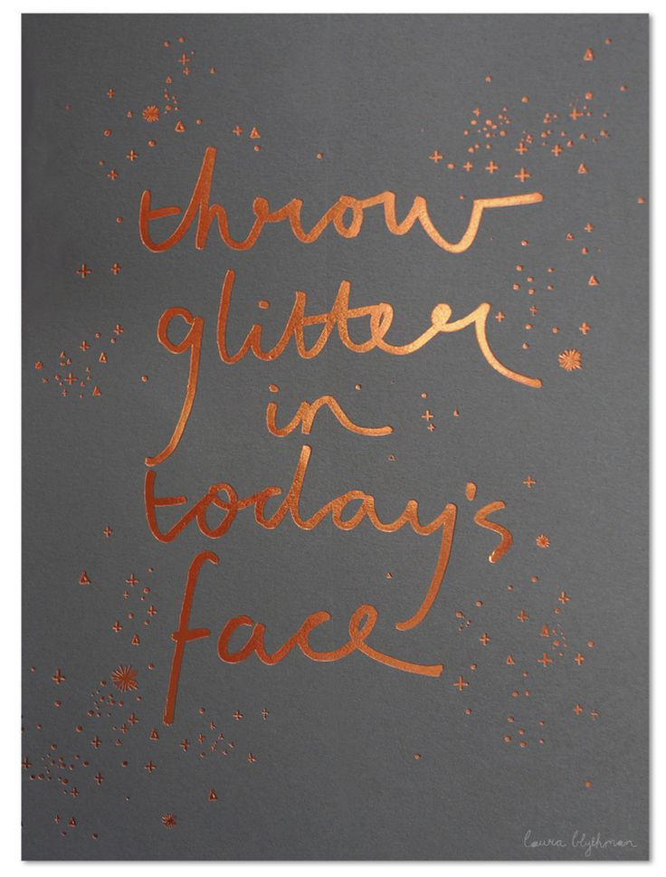 https://www.pinterest.com/lilyslibrary/ Throw some glitter in todays face!! :-)