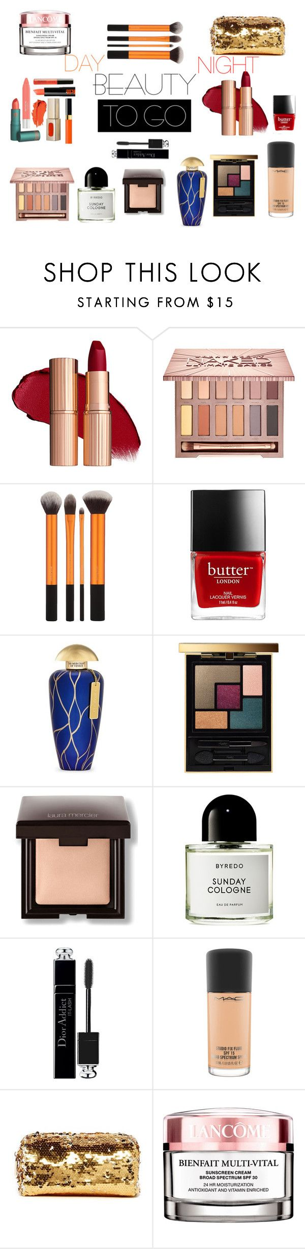 """DAY/NIGHT ON HOLYDAYS"" by susibonvi ❤ liked on Polyvore featuring beauty, Urban Decay, The Merchant Of Venice, Yves Saint Laurent, Laura Mercier, Byredo, Christian Dior, MAC Cosmetics, Deux Lux and Lancôme"