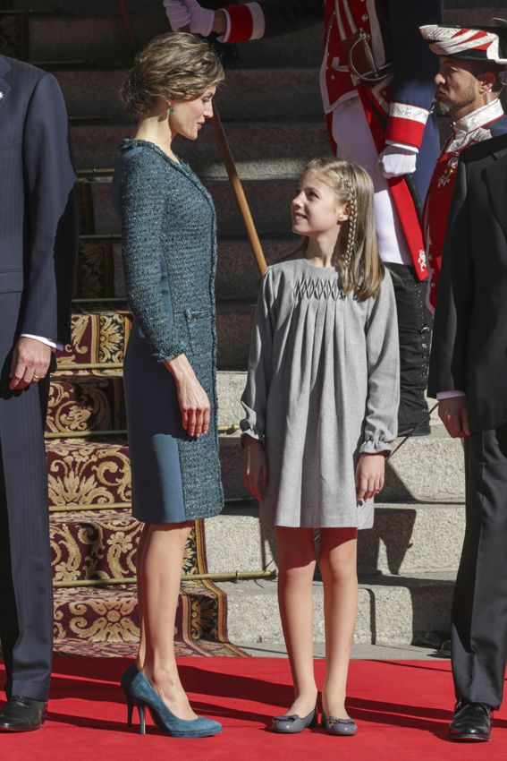 The Spanish Royal Family attend the Opening of the Parliament 17 Nov 2016
