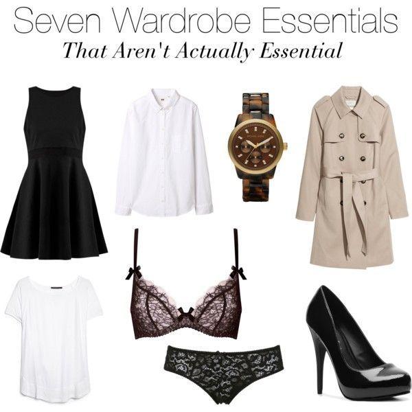 Seven Wardrobe Essentials That Aren't Actually Essential