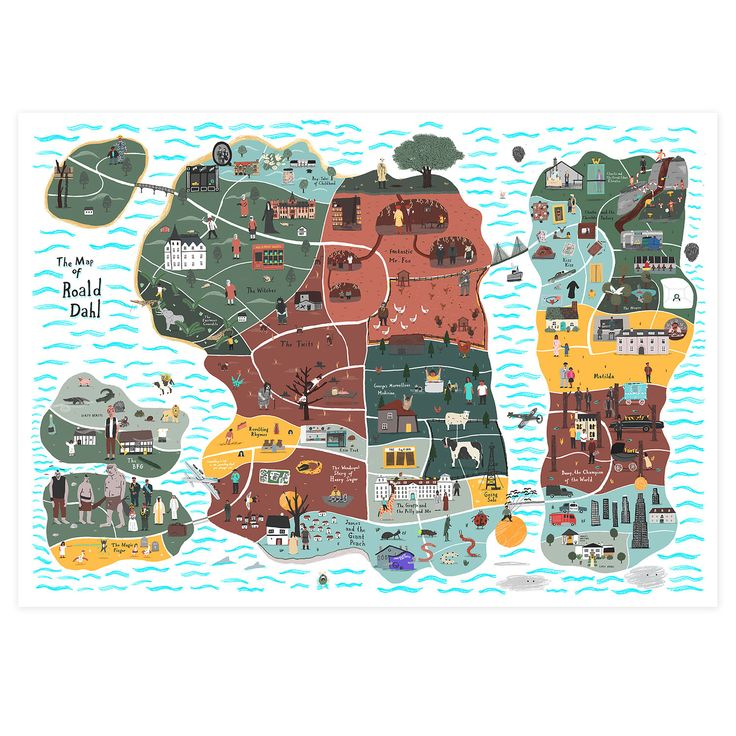 Best Maps Images On Pinterest Map Illustrations Cards And - Childrens wall map