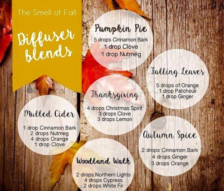 fall autumn diffuser blends. thanksgiving-Christmas spirit, clove, lemon