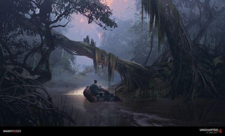 naughty dog, UNCHARTED 4: A Thief's End, art, 3d art, concept art, uncharted…