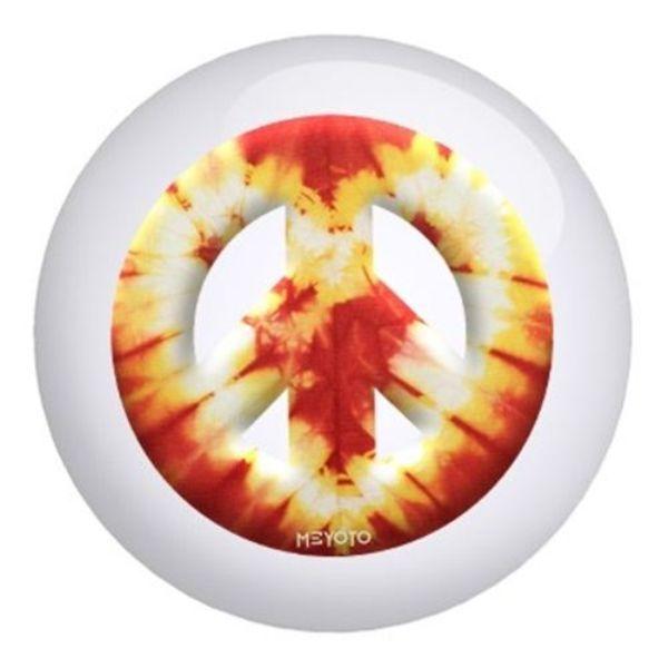 Bowling Ball Peace Man ☮