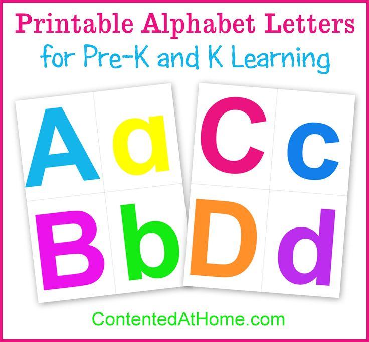 Best 25 Free printable alphabet letters ideas on Pinterest