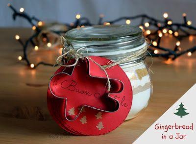 Idea regalo: Gingerbread in a Jar | Raggio di Sole