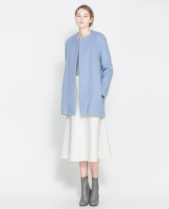 ZARA - WOMAN - MOHAIR COAT