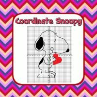 Snoopy Halloween Coordinate Graphing Fun! - Ordered Pairs, all 4 Quadrants |