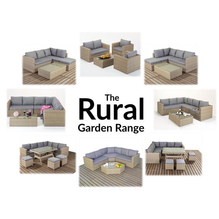 the rural garden rattan furniture range from 121 home furniture httpswww - Garden Furniture The Range