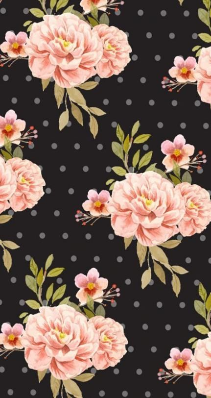 54+ Ideas Flowers Wallpaper Iphone Vintage Floral Prints # ...