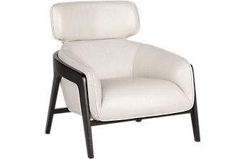 Don Gray Leather Chair