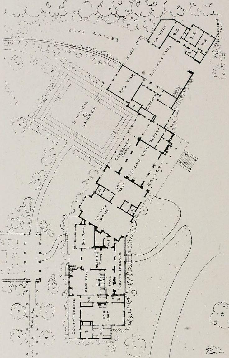 572 best house floorplans images on pinterest vintage houses