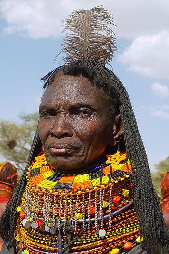 Turkana Woman - Kenya
