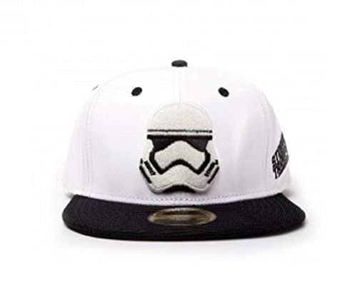 Star Wars Baseball Cap Force Awakens Stormtrooper Official White Snapback //Price: $42.27 & FREE Shipping //     #starwarscollection