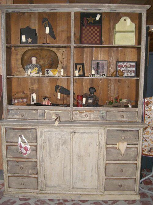 Image Detail For Primitive Furniture At The Big Red Barnourbigredbarn Dining RoomsPrimitive HutchPrimitive