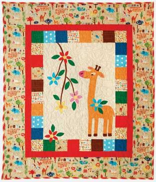 28 best giraffe images on Pinterest | Projects, Baby animals and ... : giraffe baby quilt pattern - Adamdwight.com