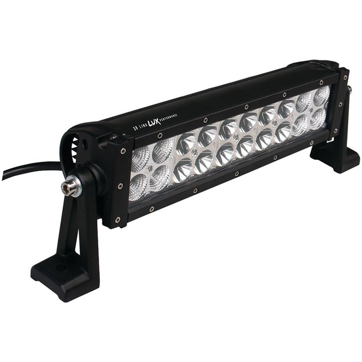 "Db Link Lux Performance Straight Led Light Bar With Combo Spot And Flood Light Pattern (12"" 20 Leds 3000 Lumens)"