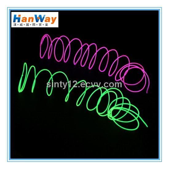 Thin EL Wire Neon Rope Light for wedding (HW-EL2-O4.0) - China thin el wire rope light, Han Way