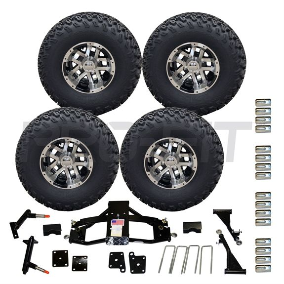 5 precedent lift and 10 blittz with off road tire combo. Black Bedroom Furniture Sets. Home Design Ideas