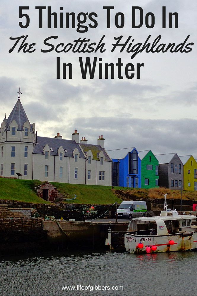 Things to do in the Scottish Highlands in Winter. In Scotland, some tourist attractions are closed in winter. Here's what you can do instead!