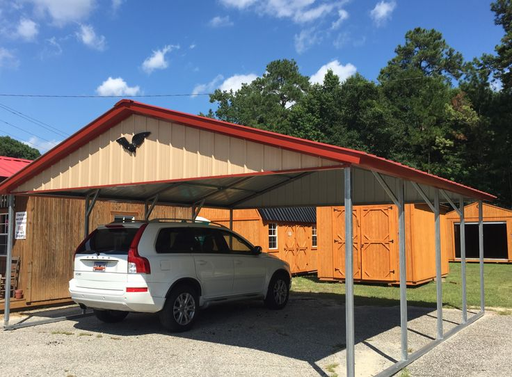 20x21 vertical Carport eagle carports | currently inventory ...