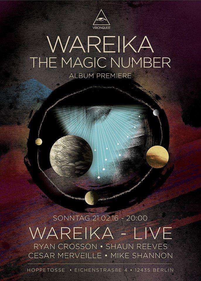 RA: Visionquest - Wareika Album Premiere at Hoppetosse, Berlin