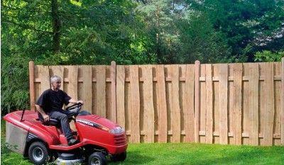 Der Holz Zaun Dresden aus 2cm starken naturbelassenen Lärchenbrettern